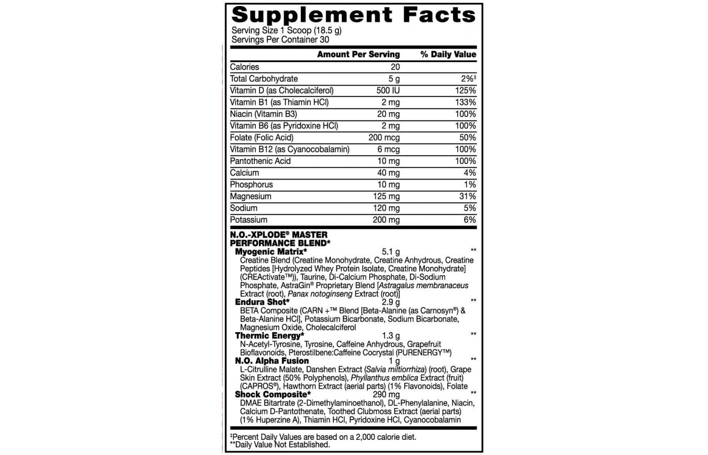 BSN N.O.-Xplode Pre Workout   Super Supplement